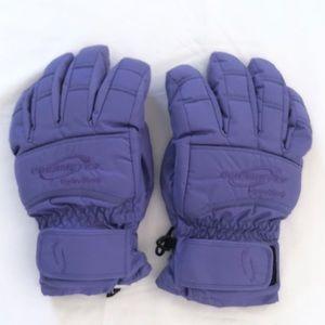 Obermeyer purple gloves sz. L